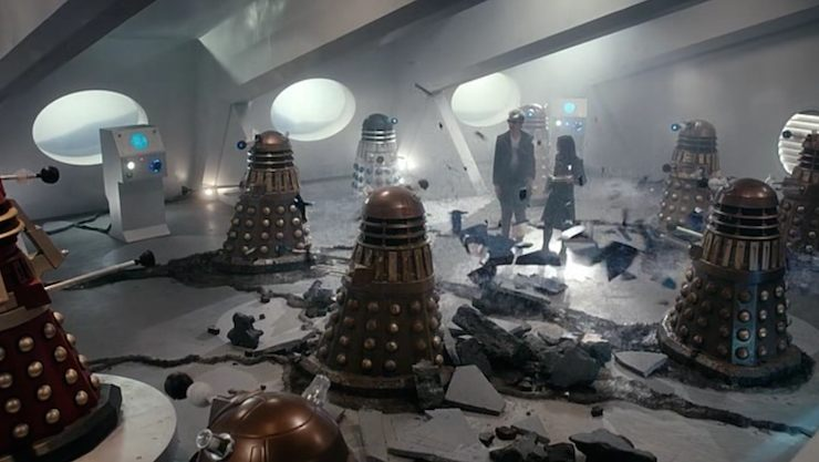 Doctor Who season 9, The Witch's Familiar