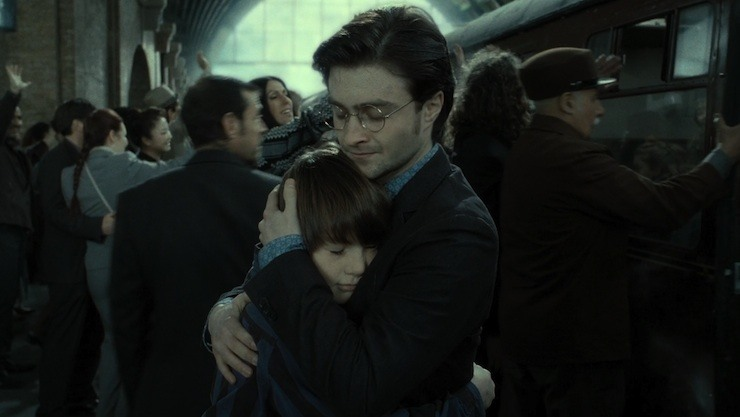 Harry Potter, Albus Severus, Deathly Hallows epilogue