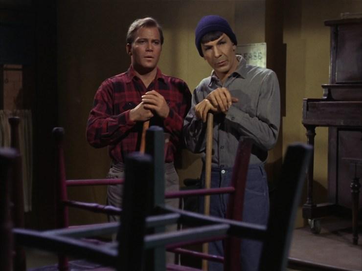 Star Trek, original series, season one, City On the Edge of Forever