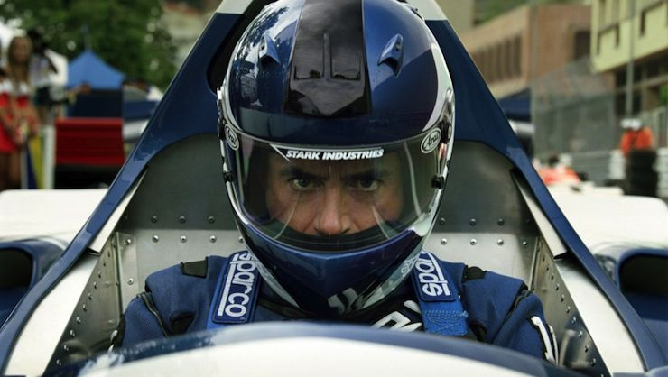 Tony Stark, race car, Iron Man 2
