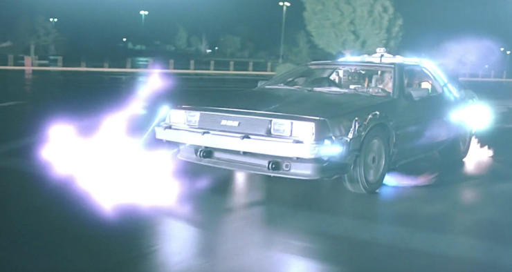 BTTF DeLorean Time Jump
