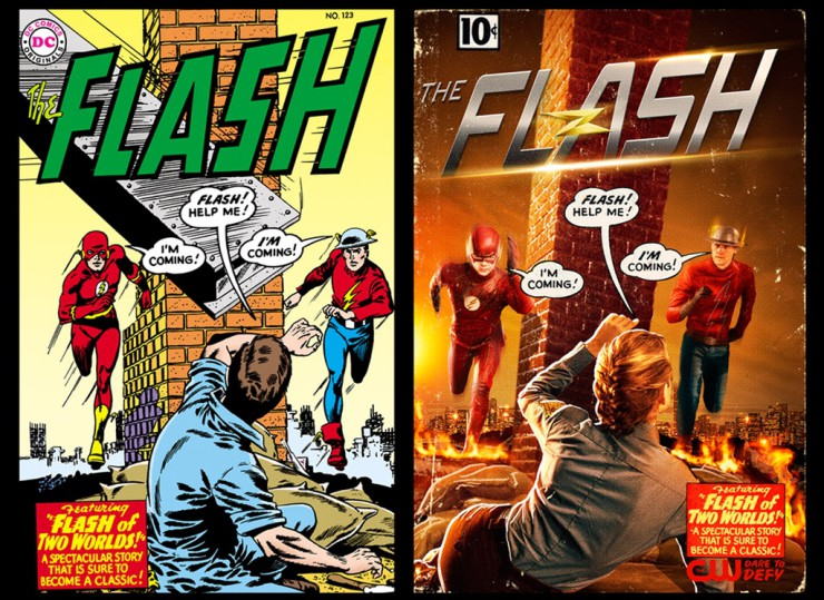 Flash CW Earth 2 Image
