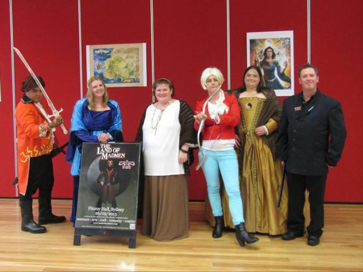 The Land of Madmen Wheel of Time convention Australia con report