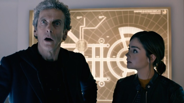 Doctor Who, season 9, Under the Lake