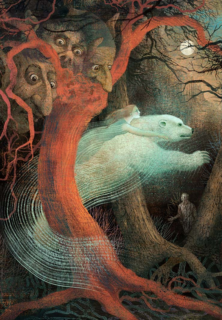 Anna and Elena Balbusso for Charles Vess' Father Christmas