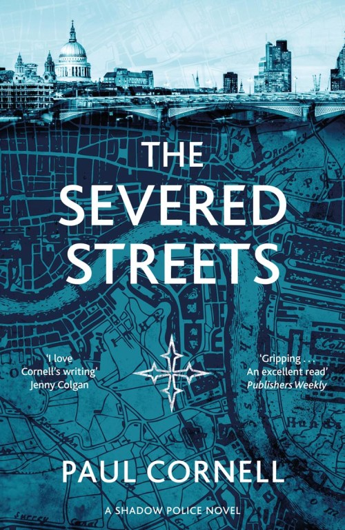 Severed Streets Paul Cornell UK cover