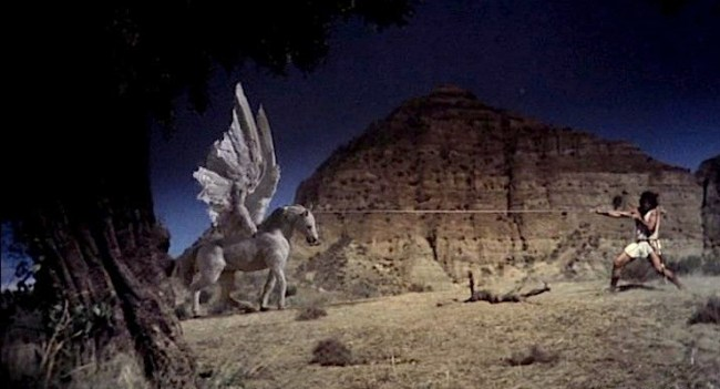 Pegasus in The Clash of the Titans