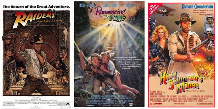 Indiana Jones and the Knock-Off Posters