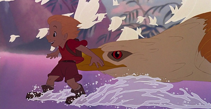 The Arrival of Computer Animation: The Rescuers Down Under | Tor.com | 385x740