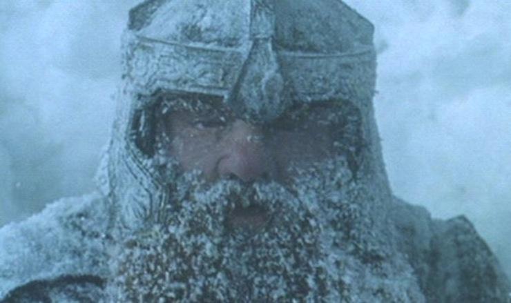 Gimli in the Snow