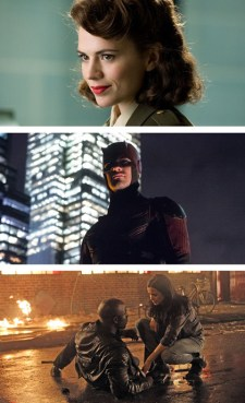 Agent Carter Daredevil Jessica Jones Luke Cage
