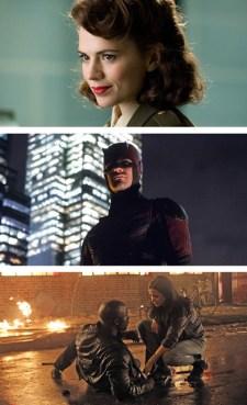 Agent Carter Daredevil Jessica Jones Luke Cage