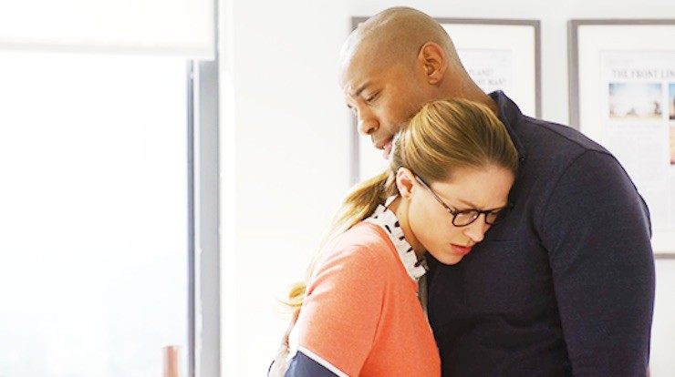 """Supergirl 1x07 """"Human for a Day"""" television review mind control"""