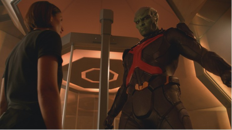 "Supergirl 1x07 ""Human for a Day"" television review mind control"