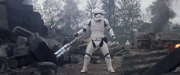 The Force Awakens trailer new footage Chinese