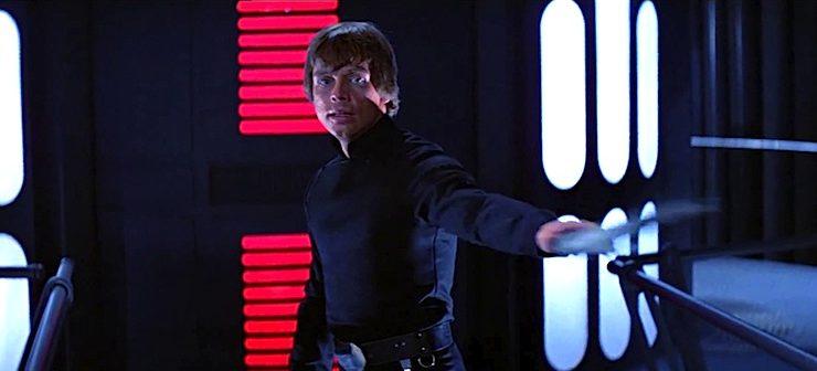 Luke in The Return of the Jedi