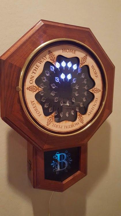 Weasley clock process pictures, imgur, tbornottb