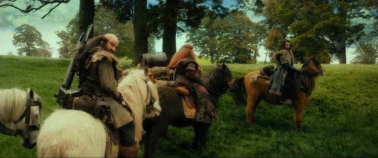 Hobbits-Ponies