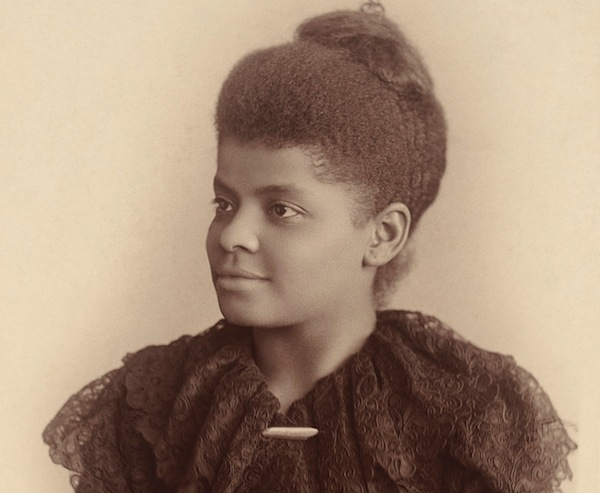Ida B. Wells; photo by Mary Garrity, c.1893