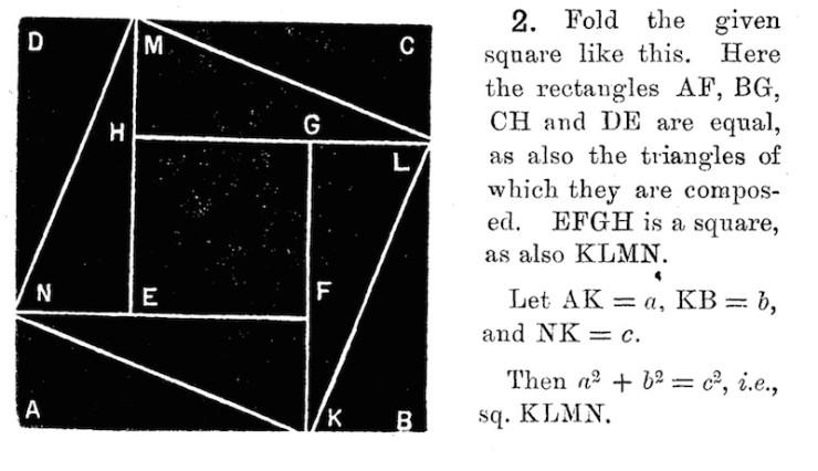 Ken Liu paper folding origami mathematics algebra