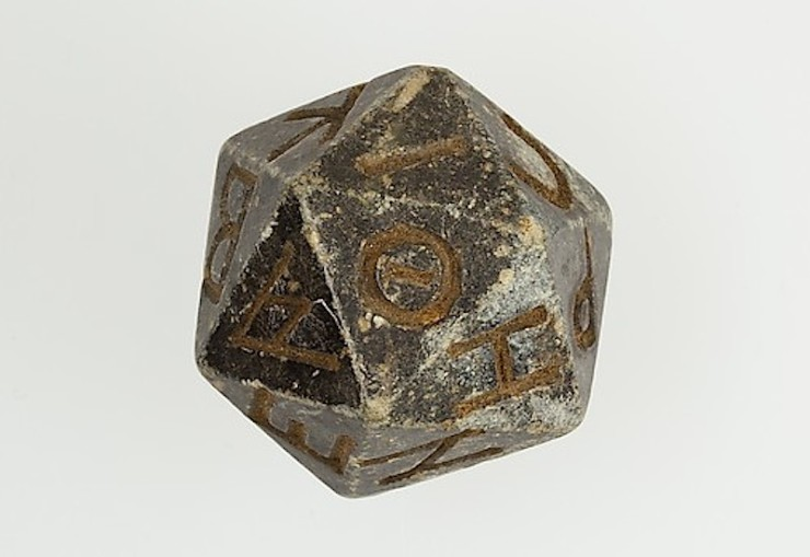 2nd Century B.C.E. 20-sided die