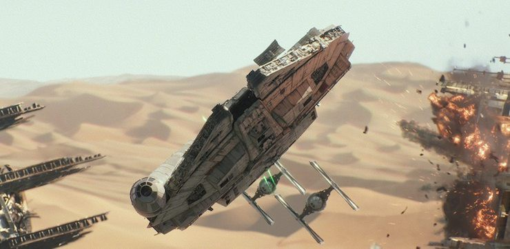 Star Wars: The Force Awakens, Millennium Falcon