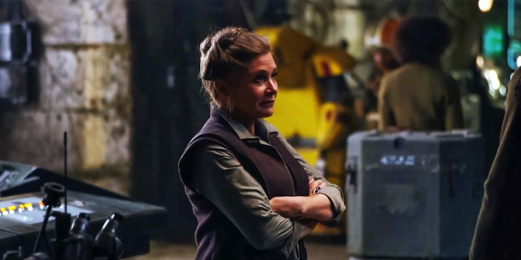 Star Wars: The Force Awakens, General Leia Organa