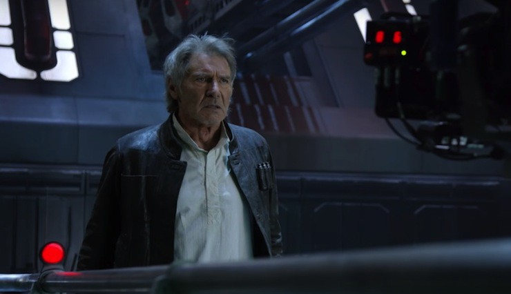 Star Wars: The Force Awakens, Han Solo death