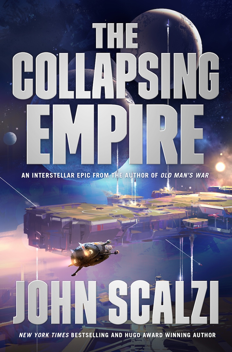 The Collapsing Empire John Scalzi cover
