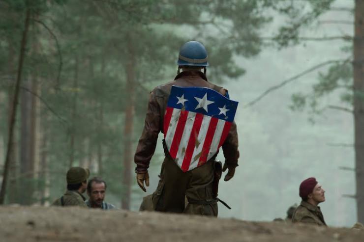 Captain America classic shield World War II Nazis Hydra