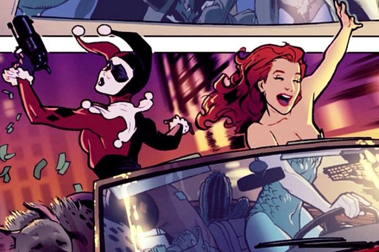 Harley Quinn Poison Ivy adventures