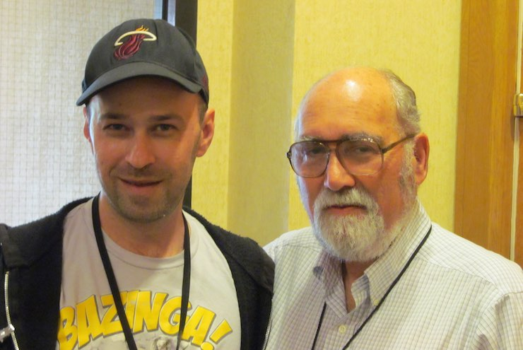 Trent Zelazny and Ted Krulik at Readercon July 2013