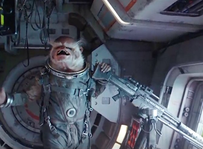 laughing alien Star Wars Rogue One