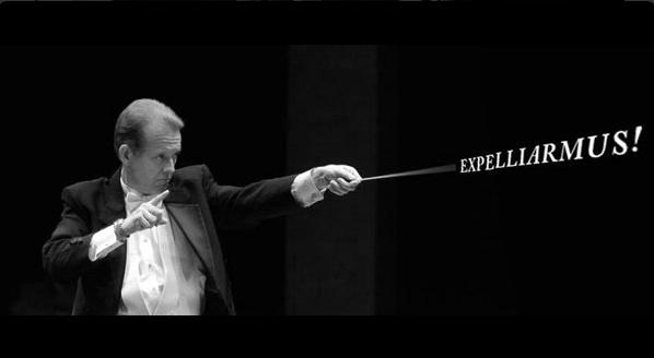Nicolas Delort, orchestra conductors, Harry Potter spells
