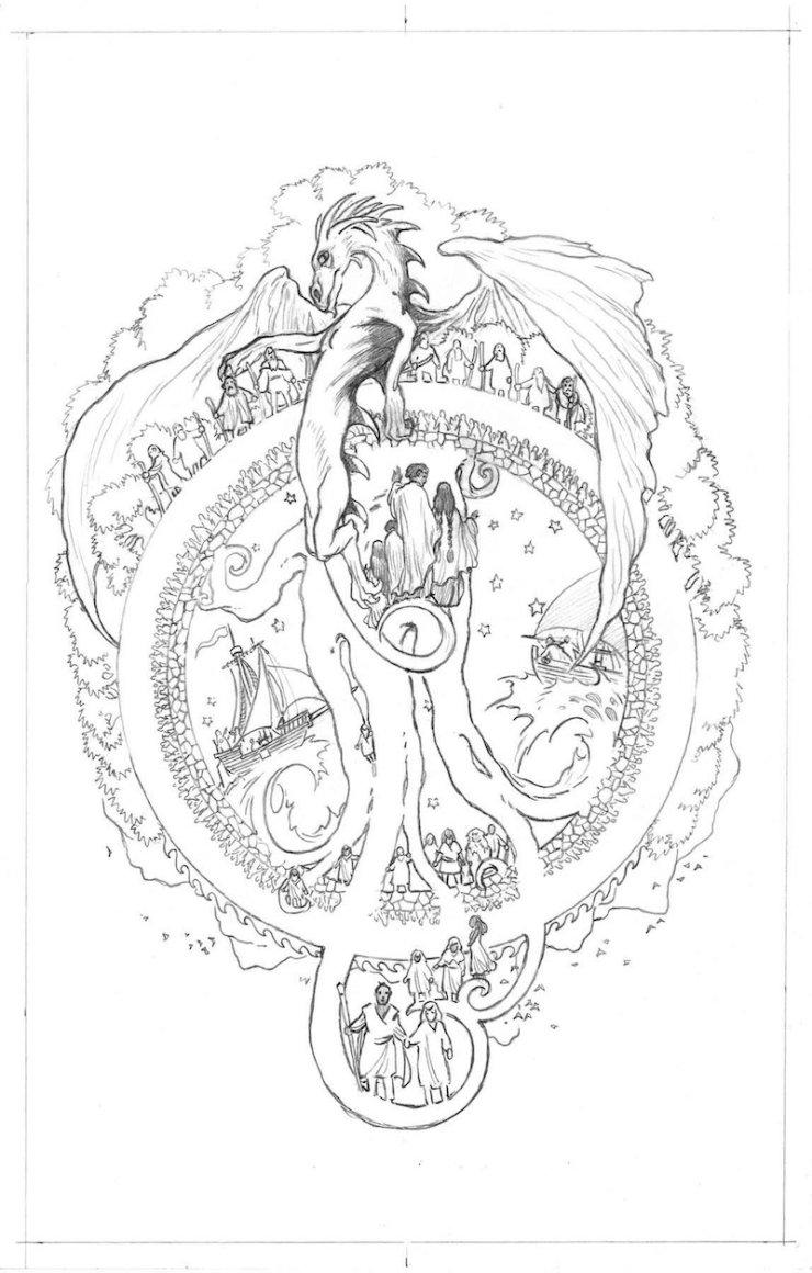 Earthsea illustrated Charles Vess