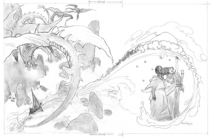 Earthsea collected illustrated Charles Vess