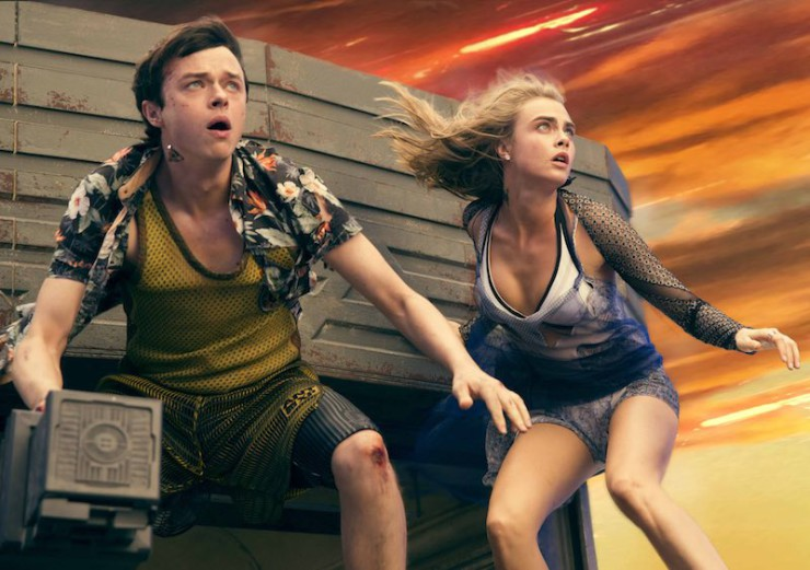 Valerian and the City of a Thousand Planets San Diego Comic-Con 2016 SDCC