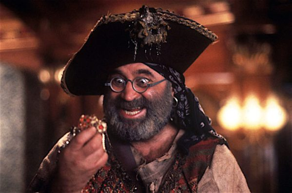 Bob Hoskins in Hook (Photo by SNAP/REX)