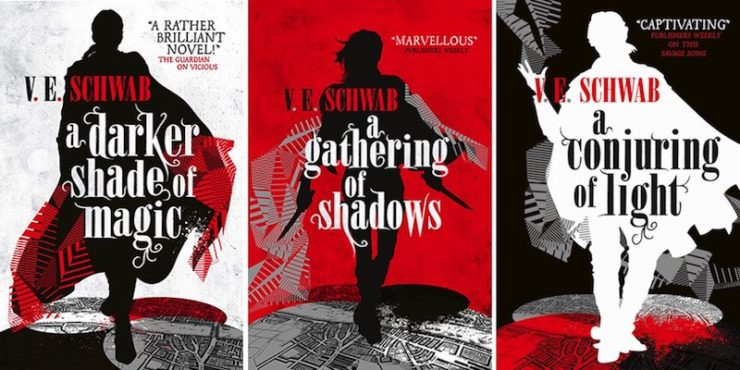 Image result for ve schwab a darker shade of magic uk covers