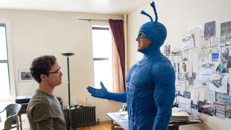 The Tick in Arthur's apartment