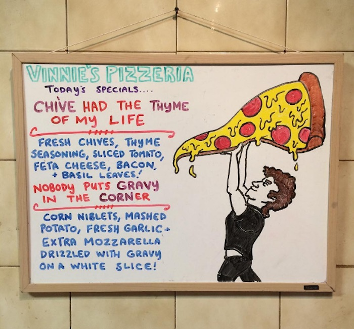 Vinnie's Pizza Dirty Dancing