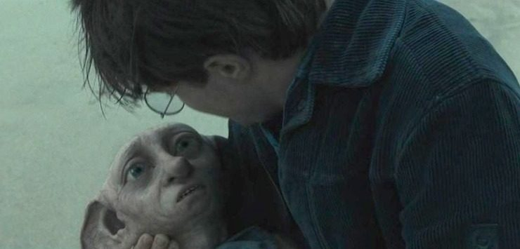 Dobby death, Harry Potter and the Deathly Hallows