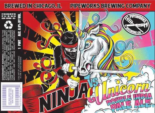 Ninja Vs. Unicorn