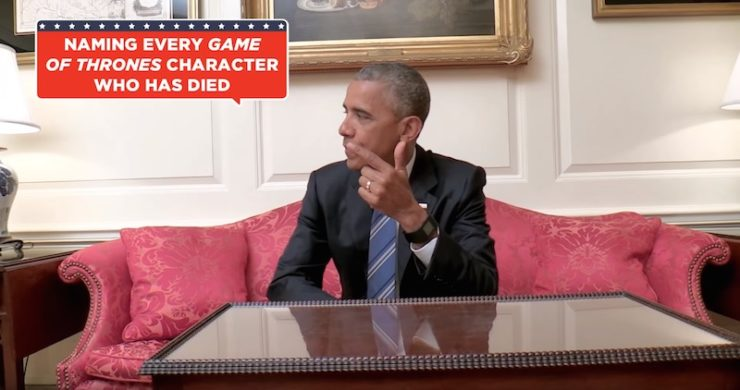 Barack Obama Game of Thrones deaths characters