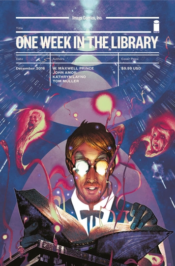 One Week in the Library graphic novella Image Comics