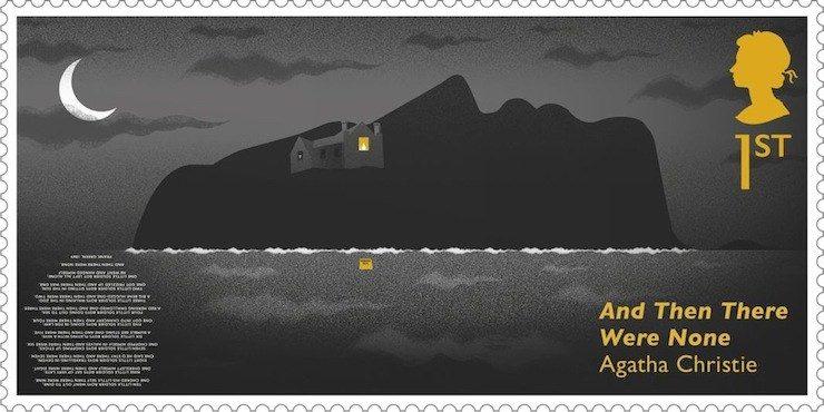 Agatha Christie stamps, Neil Webb, Studio Sutherland