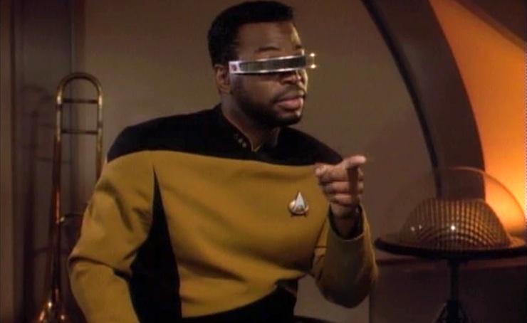 Star Trek, TNG, Geordi