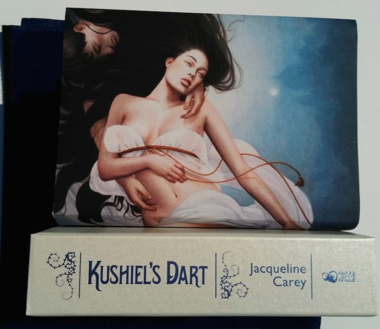 Kushiel's Dart special edition Subterranean Press