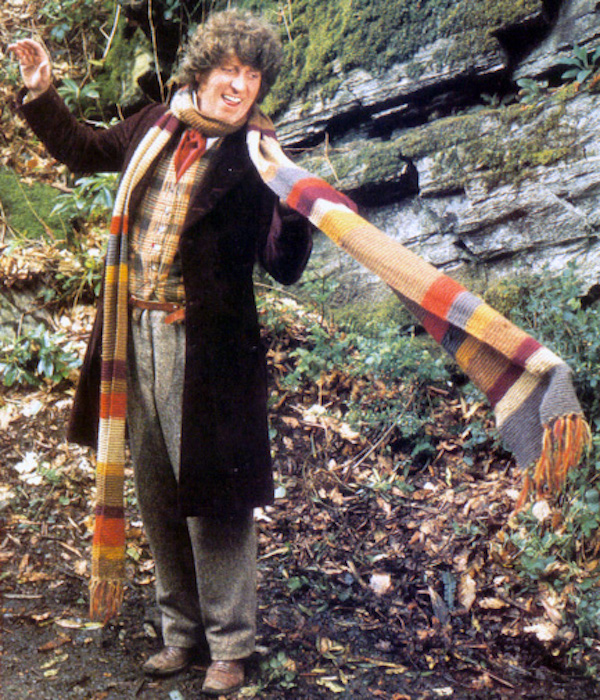 Knit Your Own Doctor Who Scarf with Instructions Straight