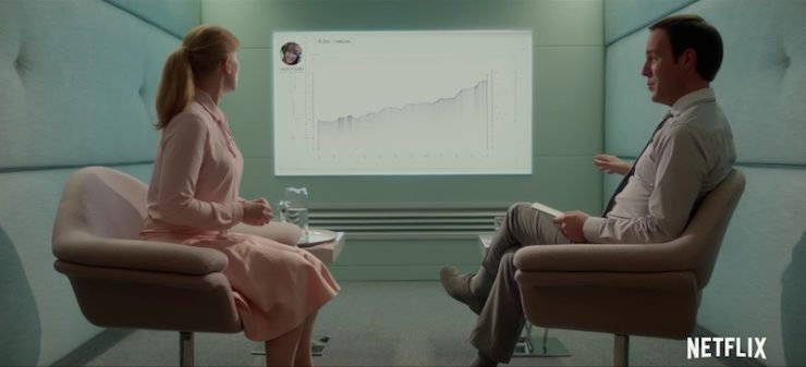 "Black Mirror season 3 ""Nosedive"" television review"